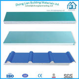 High Quality Sandwich Panel with Core Material EPS PU Rockwool Glasswool (ZL-SP)
