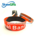 Custom High Quality Multicolor Silicone Bracelet