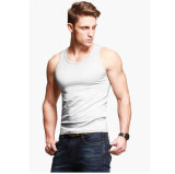 Wholesale Cotton White Plain Tank Tops/Men Tank Tops