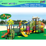 Outdoor See Breeze Style Combination Slide Playground (HD-2702)