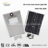 6W LED Solar Power Outdoor Street Bright Light Express China
