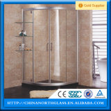 12mm Clear Safety Tempered Shower Door Glass