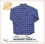 Long Sleeve Scottish Plaid Shirt
