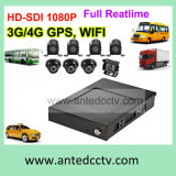 Mobile Bus CCTV Solutions with 2/4/8 Cameras 1080P GPS Tracking WiFi 3G 4G