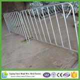 Steel Construction Safety Crowd Control Barrier La Valla Seguridad