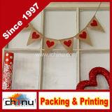 Valentines Day Mini Burlap Banner Decoration (420037)