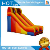 Red Color PVC Tarpaulin Double Slide Game Toy
