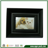 High Quality Black Rectangle Wooden Picture Frame