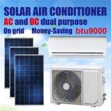 DC/AC Dual Power on Grid High Energy Efficiency 9000 BTU Solar Air Conditioner