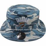 Fashion Camouflage Bucket Hat, Fish Hat