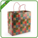 Fashion Plaid Paper Bags for Gift /Clothes/Shoes