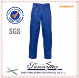 Long Work Pants with Pocket