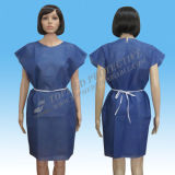 Disposable Patient Gown for Hospital Non-Transparent