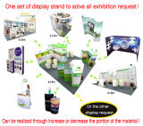 Custom Most Versatile Modular Portable Trade Show Booth 10X10, 10X20, 10X30, 20X20, 20X30ft