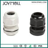 RoHS IP68 Waterproof Grey Black M12 Plastic Cable Gland