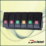 Good Quality Bus Rocker Switch
