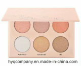 Makeup Brand 6colors Eye Shadow Eyeshadow Palette Highlighter