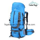55L Unisex Climbers Durable Waterproof Nylon Sports Hiking Travek Backpack