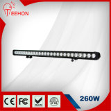 260W 43 Inch Single-Row LED Light Bar for Commercial Vehicles