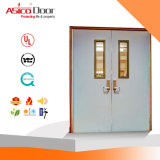 2017 UL Certified Double Steel Fire Door with Excellent Quality