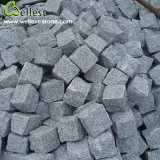 G603 Grey Granite Cube Cobble Paving Stone