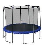 Jumping Bed (trampoline) with 6 Legs