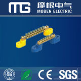 Electrical Brass Terminal Block CE RoHS BV