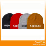 Colorful Acrylic Embriodery Kintted Hat Beaine Hat