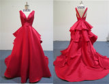 Wholesale Open Front Ladies Western Long Wedding-Evening Dress