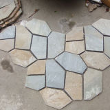 Decorative Natural Rusty Slate Flagstone Stepping Stones (SMC-Y057)