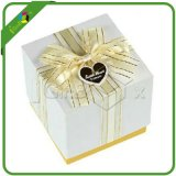 Custom Printed Wedding Paper Gift Box with Lid for Jewelry