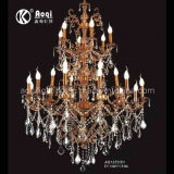 Brass Candle Indoor Crystal Chandelier (AQ1873/24)