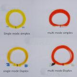 LC/FC Connectors PVC Fiber Optic Cable (FTTH CATV)