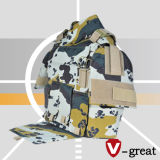 Bulletproof Vest R046 Groin, Shoulder, Collar, Front, Rear Protection