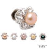 Mini Flower Shinning Zircon Pearl Brooch Ladies Pearl Brooch Pin Crystal Brooch, Flower Brooch, Brooch Jewelry, Brooch Bouquet