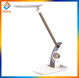Whole Modern Touch Study Table Lamp with The Time &Alarm Clock