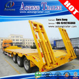 Heavy Loader 50t-80t Low Bed/Lowboy Semi Truck Trailer