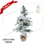 2017 Real Feel Christmas Artificial Plasic Tree for Decoration 95-150cm
