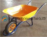 Hand Yard Wheelbarrows Wb6400 Rubber Wheel