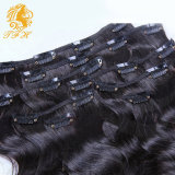 Water Wave Human Hair 120g Clip in Human Hair Extensions Wave Brazilian Virgin Clip in Hair Extensions Human Hair
