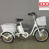 Lithium Battery and Passenger and Cargo Electric Tricycle 250W