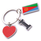 New Custom Metal Souvenir Eritrea Keyring