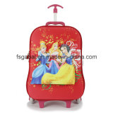 Cute 3D Embossed Cartoon EVA Pupil Child Trolley Bag