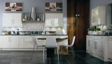 Modern Solid Wood High Quality Standard Kitchen Cabinet #256