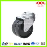 Black Nylon Bolt Hole Twin Wheel Caster (G193-20B050X19D)