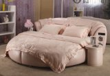 Pink Round Bed with Audio (9058)