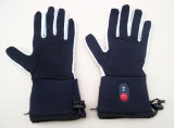 Heated Glove Liner with 7.4V, 2000mAh Waterproof Battery Pack, 8.4V, 2A Dual Travel Charger