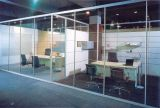 110 Series Aluminium Partition with Clear or Frosted Opaque Glass Divide Big House Into Small Offics