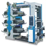 Economic Roll Plastic Film Flexographic Printing Machine with Six Colors