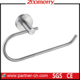 Round Base Stainless Steel 304 Toilet Paper Holder (06-3006)